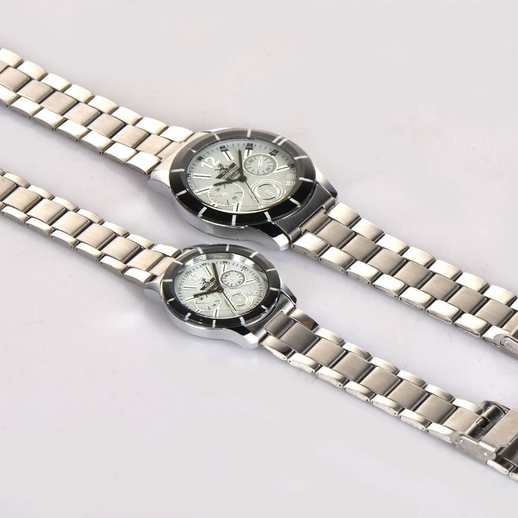 STYLISH WATCH COMBO FOR GENTS & LADIES  - 1 Year  Warranty