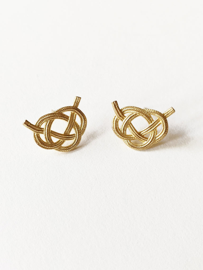 Awaji gold Earrings
