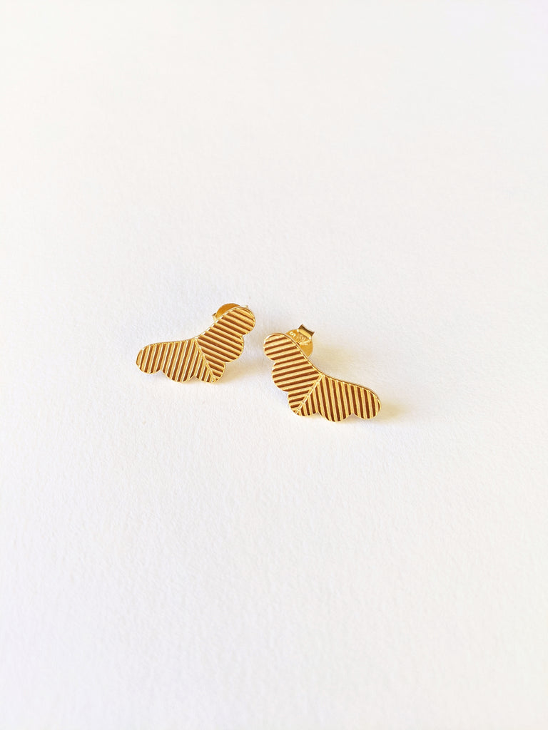 Matsu Gold Stud Earrings