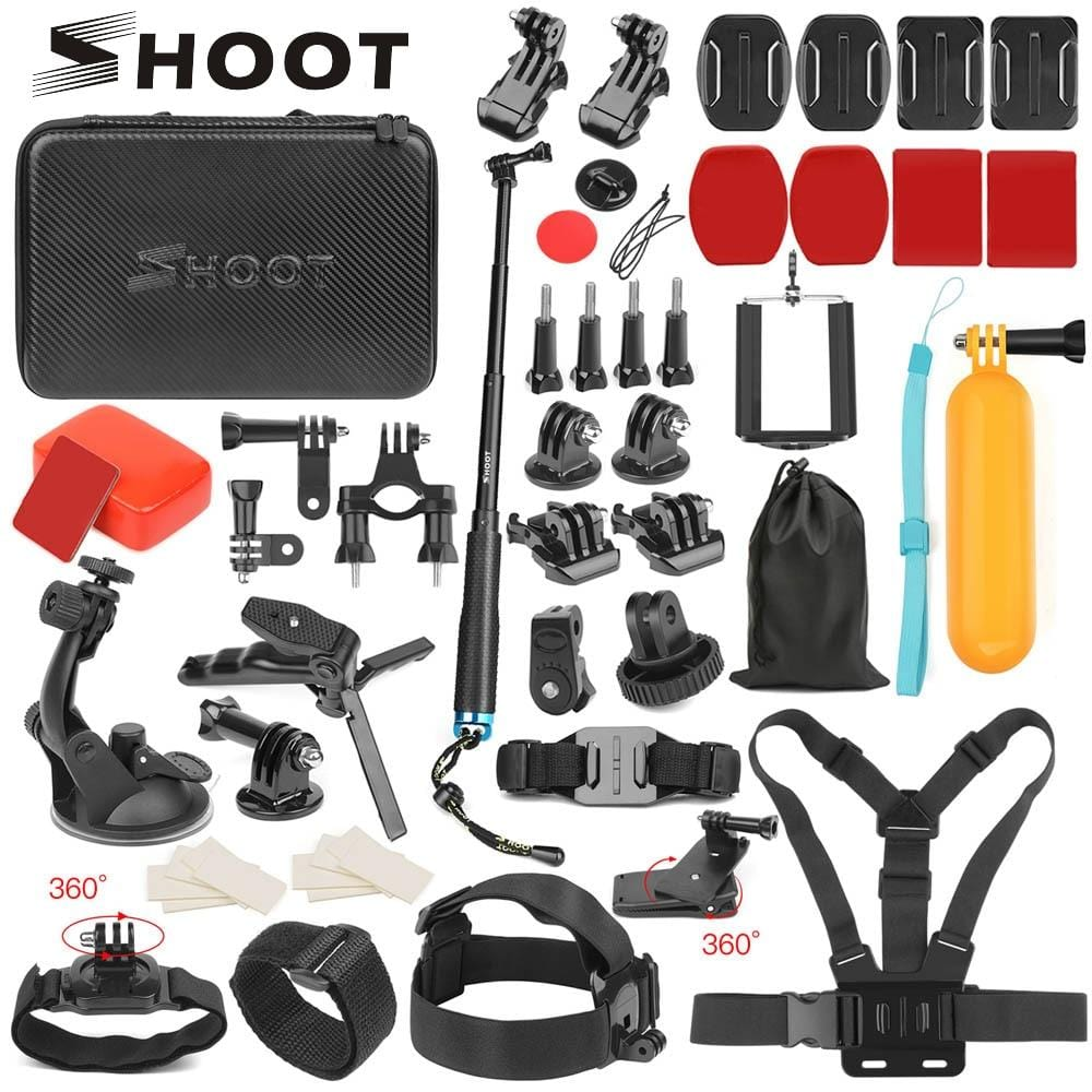 SHOOT Action Camera Accessories - Treasure Kleny