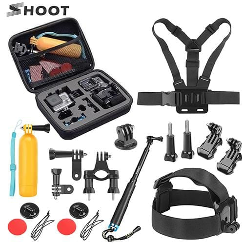 Best SHOOT Action Camera Accessories XTK 107