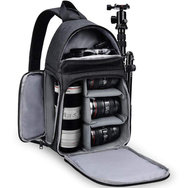 DSLR Camera Bag Shoulder Sling Cross case for Nikon