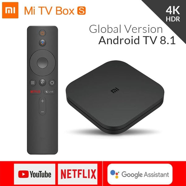 Global Original Xiaomi Mi Box S 4K - Treasure Kleny