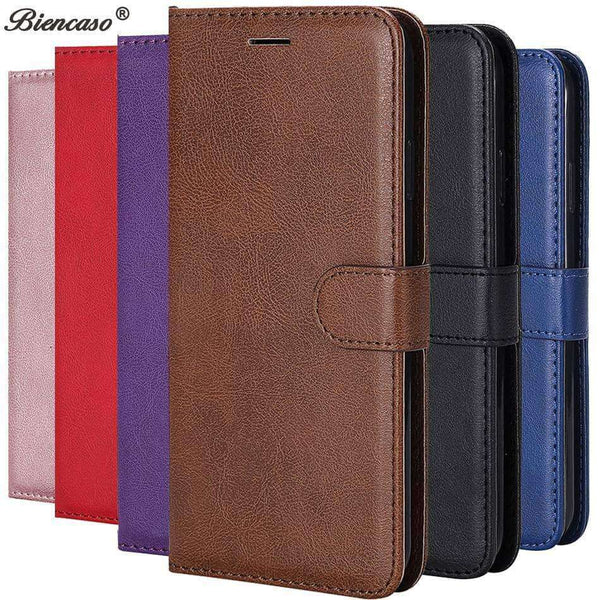 1 A Leather Flip Case for Samsung,Phone Bags & Cases,Uunoshopping