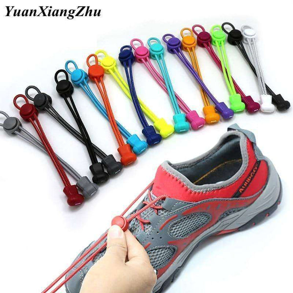 1 Pair Elastic Shoelaces,Clothing men,women,Uunoshopping