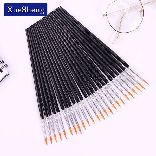 10 PCS/Set Brush Painting,Arts,Uunoshopping