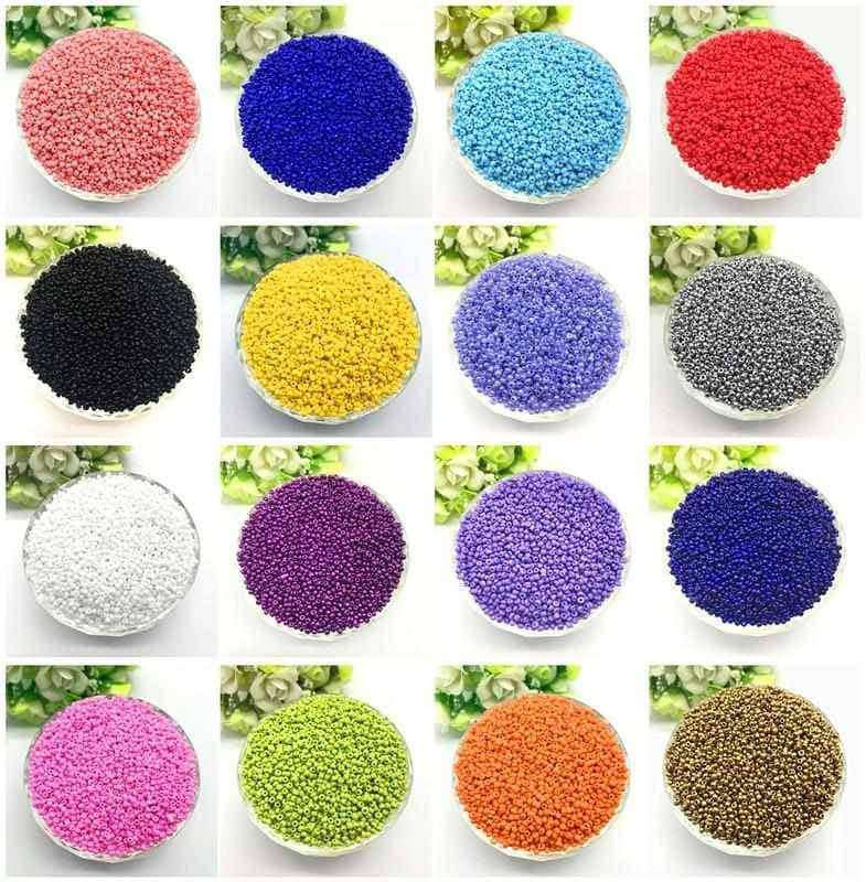 1000pcs 2mm Charm Czech Glass Seed Beads,Jewelry Accessorie,Uunoshopping
