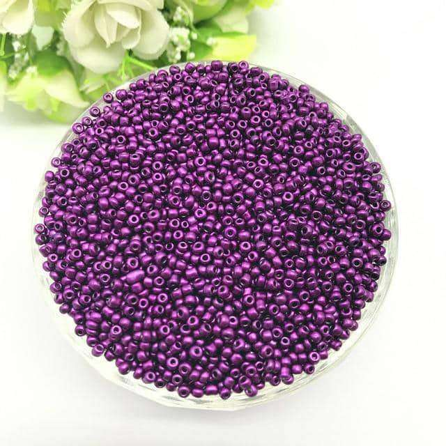 1000pcs 2mm Charm Czech Glass Seed,Jewelry Accessorie,Uunoshopping