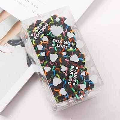 100PCS/Lot 3.0CM Small Ring Rubber,Hair Care & Styling,Uunoshopping