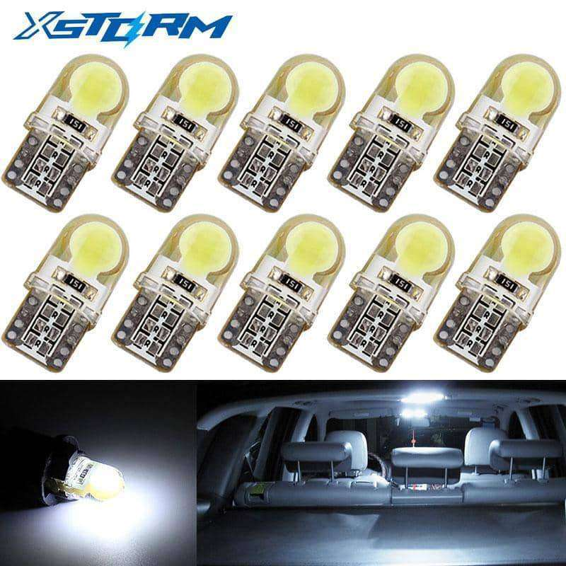 10Pcs Auto T10 Led Cold White,Car Accessoires,Uunoshopping