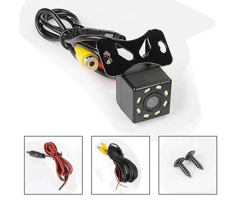 12 LED Night Vision Backup Parking Reverse Camera Waterproof,Car Accessoires,Uunoshopping