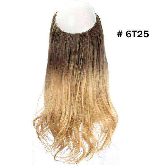 "14"" 16"" 18"" 120g Wave Halo Hair Extensions,hair,Uunoshopping"