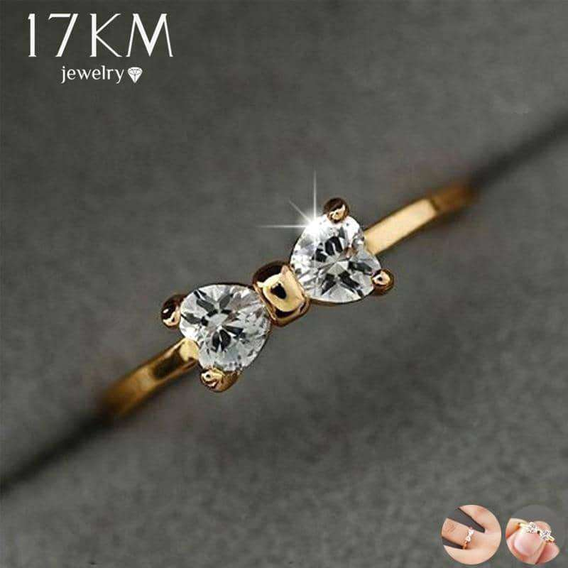 Austria Crystal Rings Gold Color,Rings,Uunoshopping