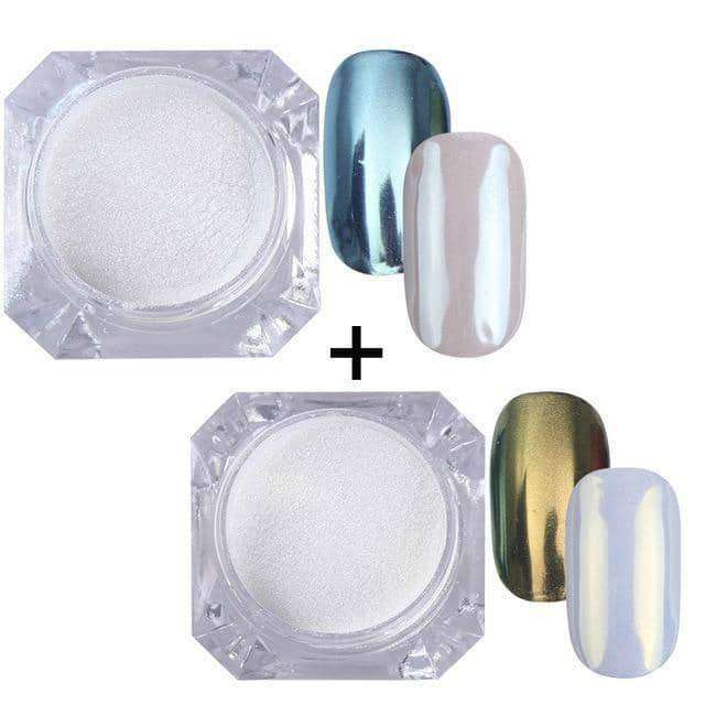 1g Mirror Powder Glitter Nail,nails tools,Uunoshopping