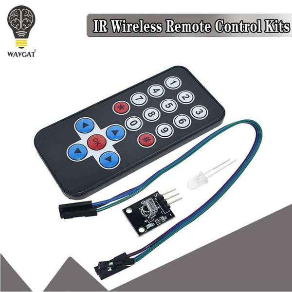 1LOT Infrared IR Wireless Remote Control Module Kits,Electronic Components & Supplies,Uunoshopping