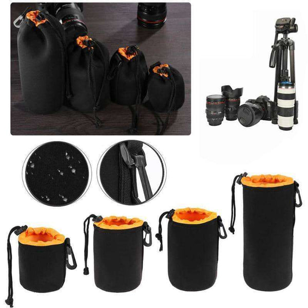 1Pcs Camera Lens Pouch Bag,Camera & Accessories,Uunoshopping