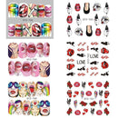 1pcs Nail Stickers Water Decals Wraps,nails tools,Uunoshopping