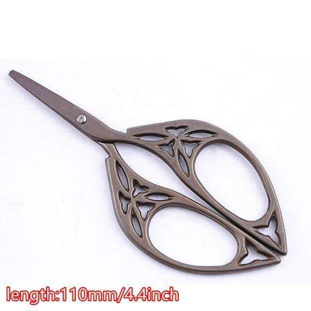 Durable Stainless Steel Vintage Scissors Nail,nails tools,Uunoshopping
