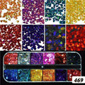 1Set Ultrathin Sequins Nail Art Glitter,nails tools,Uunoshopping