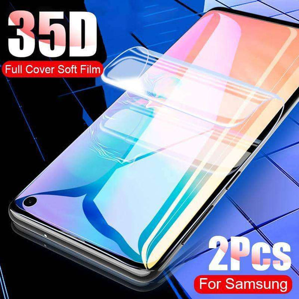 2 pcs 35D Screen Protector For Samsung Galaxy S10 S9 S8 Plus S10E Note 8 9 S7 EDGE Note10 Plus,screen protector,Uunoshopping