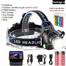 20000lums LED Headlight Zoom Led Headlamp,Light & Lighting,Uunoshopping