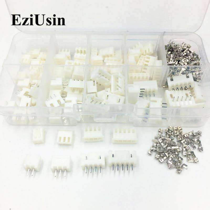 230pcs Pitch Terminal Kit / Housing / Pin Header JST Connector,tools electronics,Uunoshopping