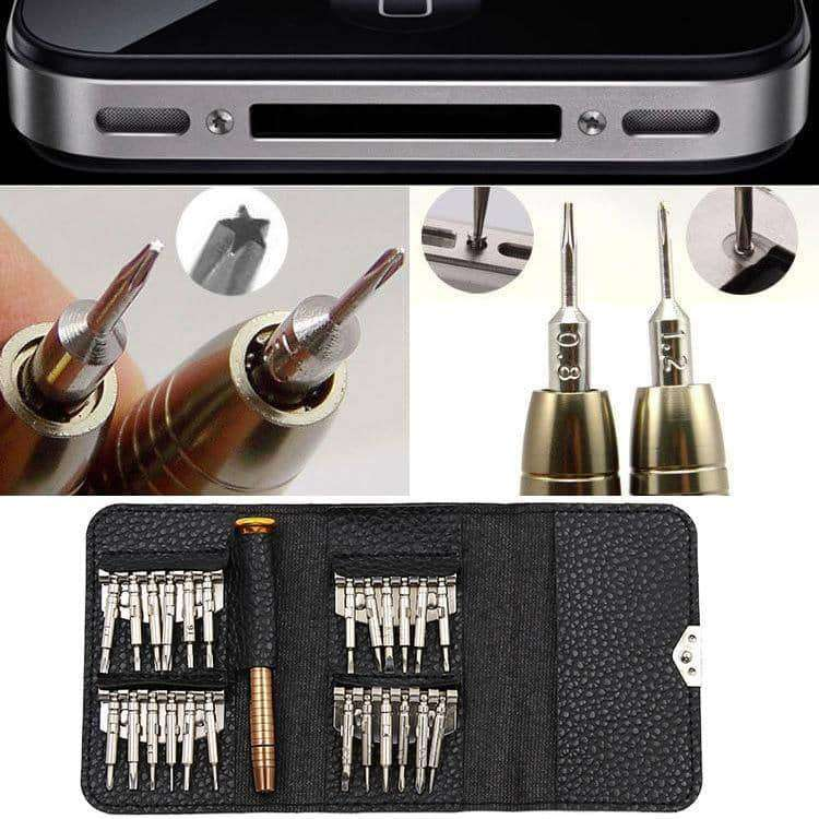 25 Combined 1 Multifunction Manual Screwdriver Bit Set,tools electronics,Uunoshopping