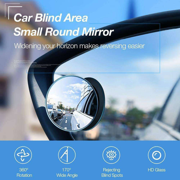 2Pcs Car Holder HD RearView Mirror,Car Accessoires,Uunoshopping