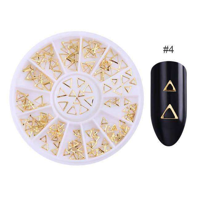 3D Metal Nail Art Decoration,nails tools,Uunoshopping
