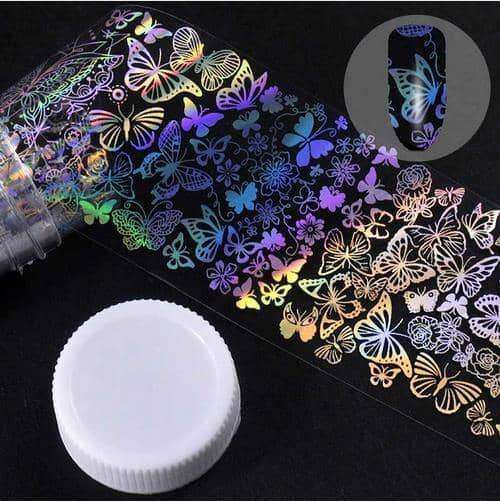 4*100cm/Roll Holographic Nail Foil,nails tools,Uunoshopping