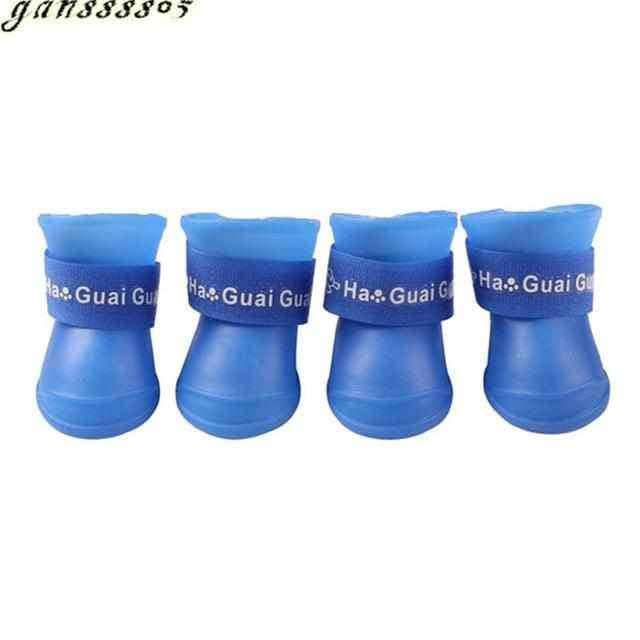 4pcs/lot S/M/L Pet Dog Rain Shoes,pet products,Uunoshopping