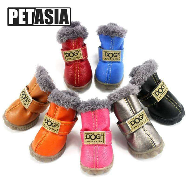 4pcs/set Winter Pet Dog Shoes,pet products,Uunoshopping