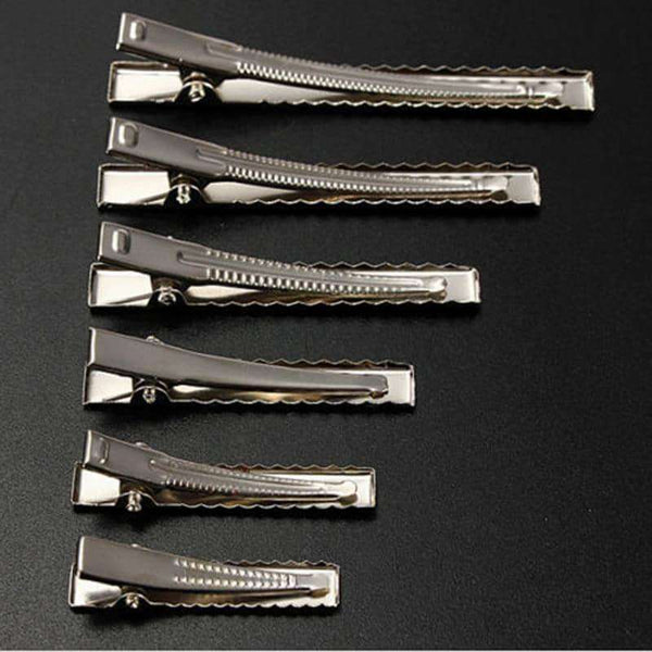 50pcs Metal Hair Alligator Clips Hair Style Tools Accessories,Hair Care & Styling,Uunoshopping