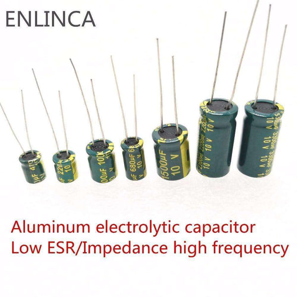 5/20pcs Low ESR high frequency aluminum capacitor,Electronic Components & Supplies,Uunoshopping
