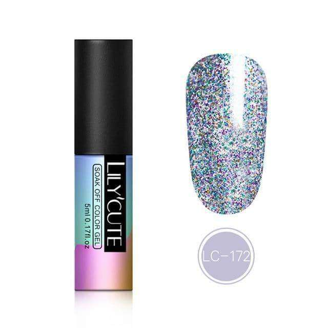 5ml Glitter UV Gel Nail Art Gel,nails tools,Uunoshopping
