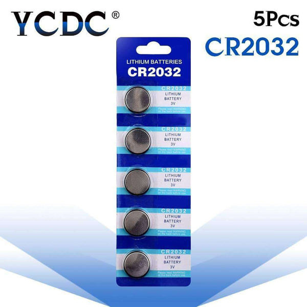5pcs/pack Cell Coin Lithium Battery,watch accessories,Uunoshopping