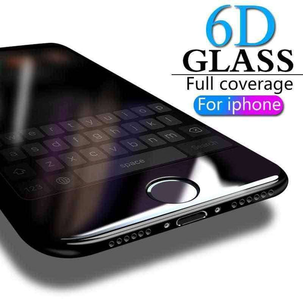 6D Full Cover Tempered Glass For iPhone screen protector,screen protector,Uunoshopping