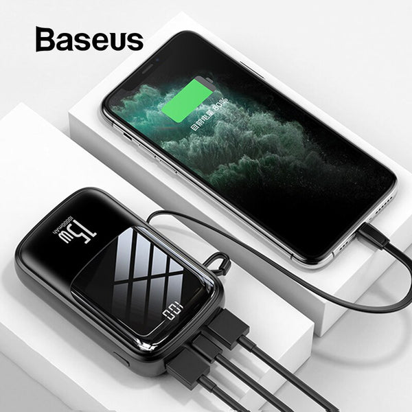 Power Bank 10000mAh Fast Charging,Phone Chargers & USB Cable,Uunoshopping
