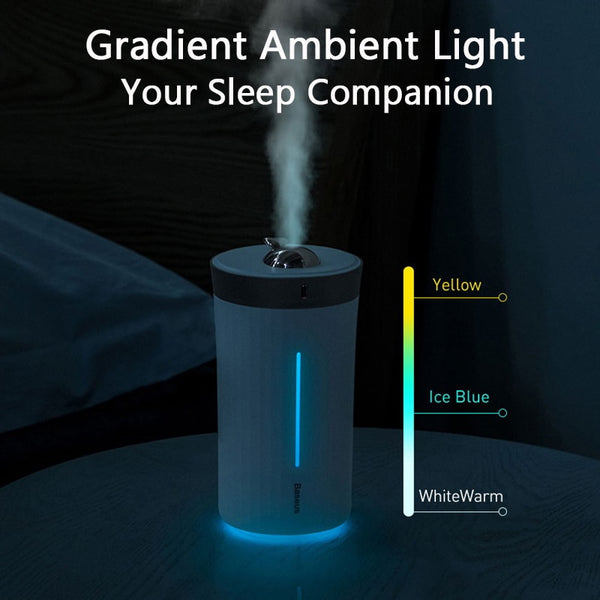 Air Humidifier with LED Night Lamp,home,Uunoshopping