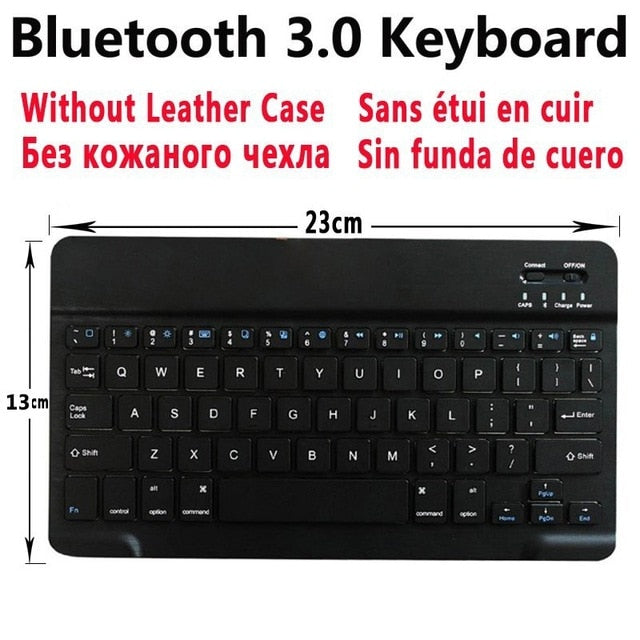 Bluetooth Keyboard Case For Apple iPad