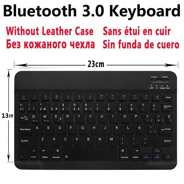 Bluetooth Keyboard Case for Samsung Galaxy Tab