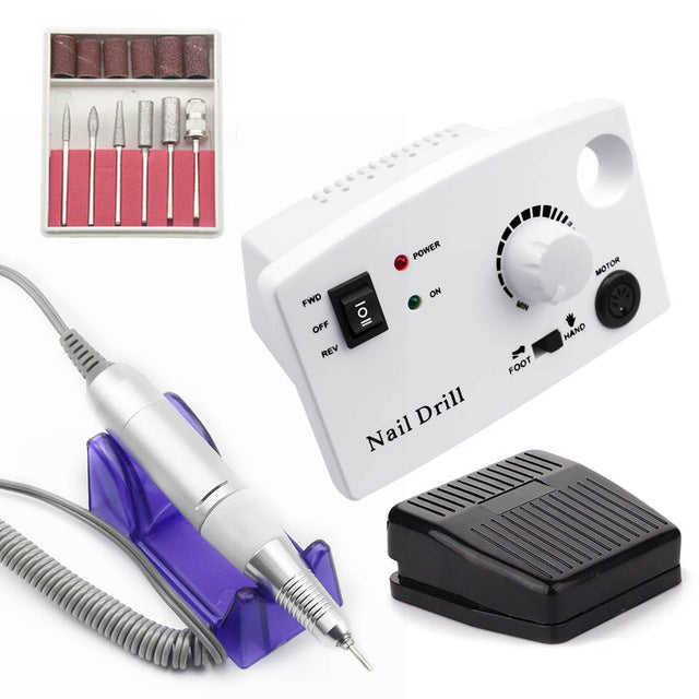 Electric Nail Drill Machine,Nails Tools,Uunoshopping