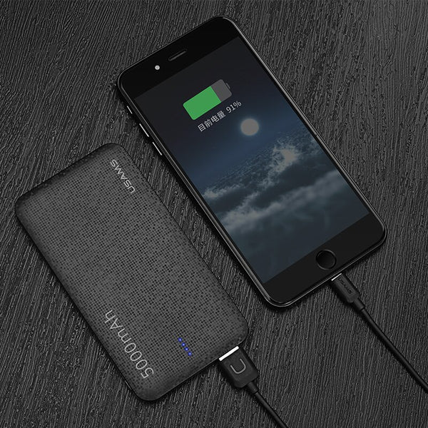 5000mAh powerbank for phone charger,Phone Chargers & USB Cable,Uunoshopping