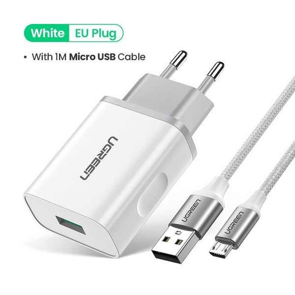 Quick Phone Charger with usb c cable/ micro cable,Phone Chargers & USB Cable,Uunoshopping