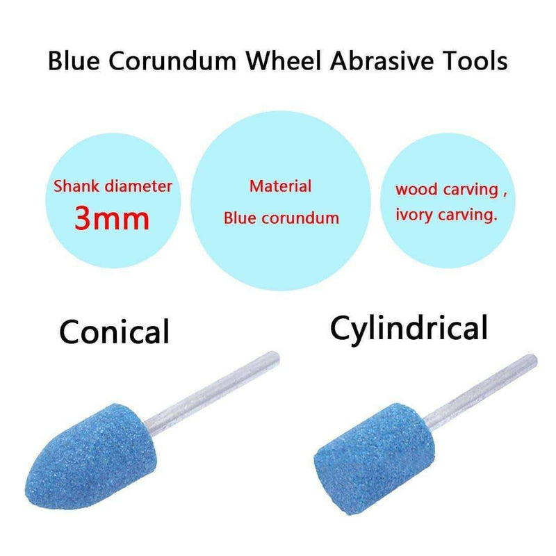 Abrasive Mounted Stone Points Electric Grinding,tools electronics,Uunoshopping