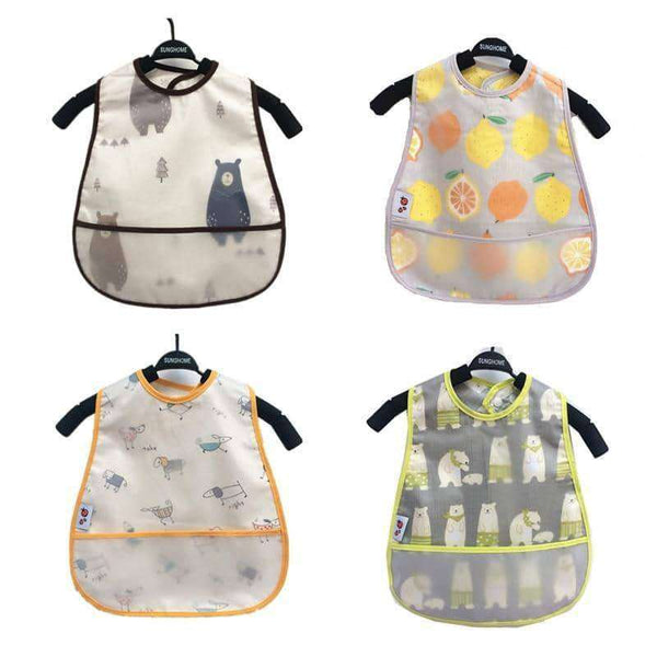 Waterproof Lunch Feeding Bibs Kids,Kids,Uunoshopping