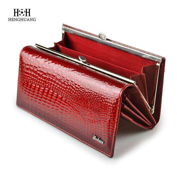 Alligator Womens Wallets,Wallets & Holders,Uunoshopping