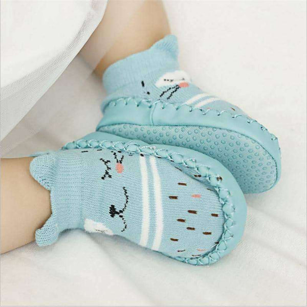 Baby Socks With Rubber Soles Infant Sock Newborn,Kids,Uunoshopping