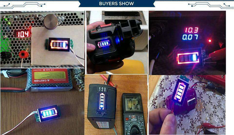 Battery Power Tester,Electronic Components & Supplies,Uunoshopping