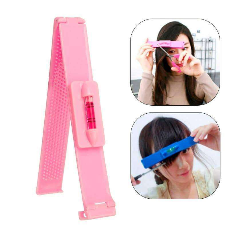 Hair Cutting Ruler Hair Trimmer Scissors Bangs Clipper,Hair Care & Styling,Uunoshopping